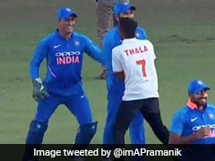 MS Dhoni Making Pitch Invader Chase Him Is The Best Thing You Will See