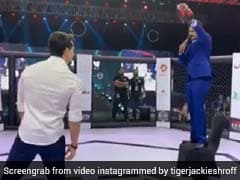 टाइगर श्रॉफ ने मारी ऐसी किक, उड़ जाएंगे होश- देखें वायरल Video