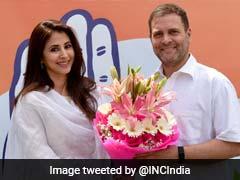 राहुल गांधी की मौजूदगी में अभिनेत्री उर्मिला मातोंडकर ने थामा कांग्रेस का हाथ, मुंबई की इस सीट से लड़ सकती हैं चुनाव