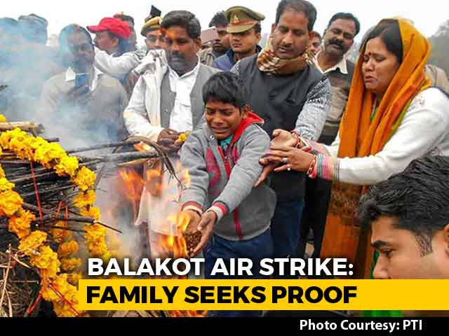 """Video : """"Show Us Terrorists' Bodies"""": Soldiers' Families On Balakot Air Strike"""