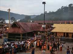 Thousands Offer Prayers At Sabarimala Temple Amid Row Over Women Entry