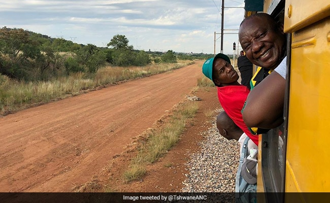 South Africa President Stuck In Train For Hours, Gets 'Reality' Check