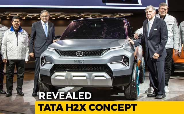Video : 2019 Geneva Motor Show: Tata H2X Concept Revealed