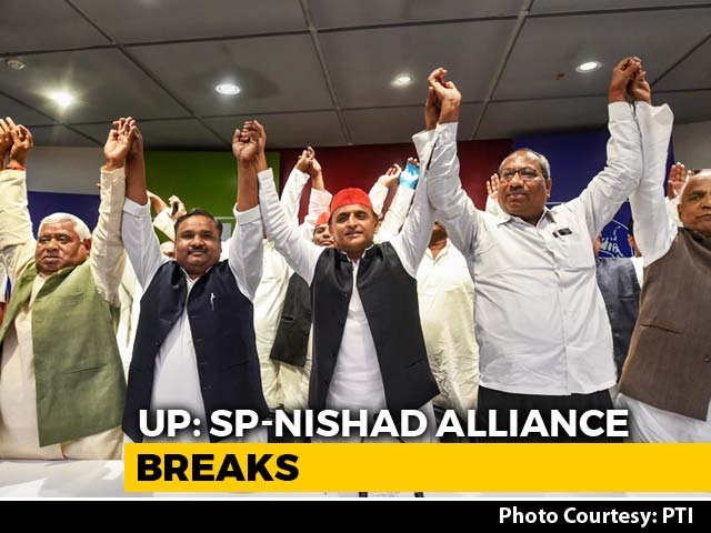Video : Akhilesh Yadav Refuses To Placate UP Giant Killer Who Called Off Alliance