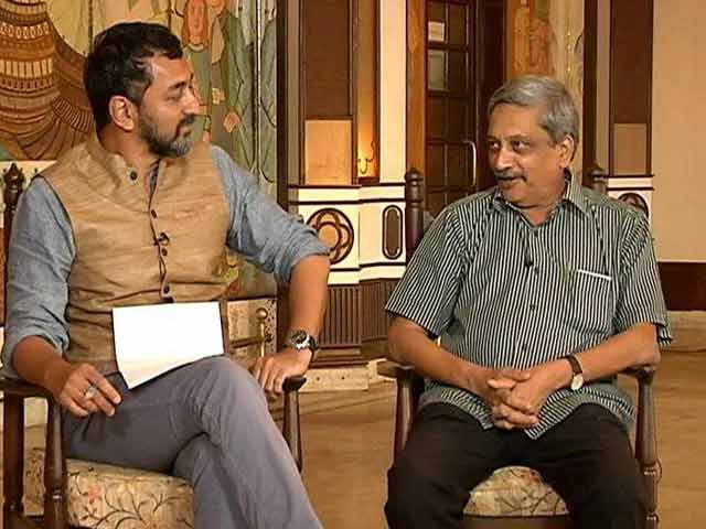 Video : What Manohar Parrikar Told NDTV After Becoming Goa Chief Minister In 2017