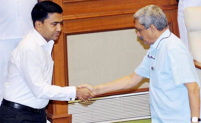 'I'm Here Only Because Of Manohar Parrikar': Pramod Sawant Breaks Down