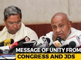 Video : JDS, Congress Work On Unity As Template For Opposition