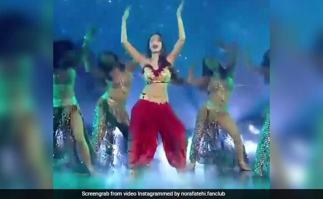 नोरा फतेही ने 'दिलबर' सॉन्ग पर फिर किया तूफानी डांस,  खूब देखा जा रहा Video