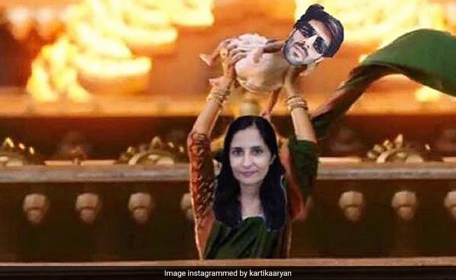 Women's Day 2019: Kartik Aaryan's 'Mummy Strongest' Post Has A Baahubali Twist