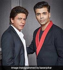 SRK Blames KJo's 'Fat Fingers' In Tweet After #ShameOnKaranJohar Trends