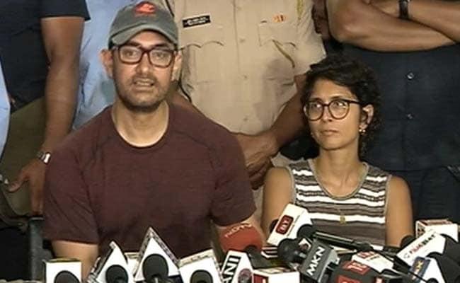 आमिर खान ने वोटर से कहा, ''मैं यह नहीं बता सकता कि कैसे वोट करें...''- देखें Video