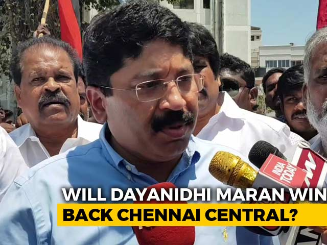 Video : 4-Way Fight In Central Chennai As DMK's Dayanidhi Maran To Contest Polls