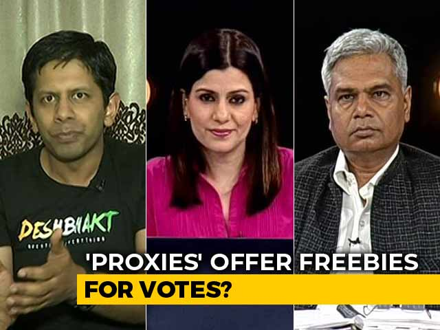 "Video : Are Parties Trying To ""Buy"" Your Vote With Online Freebies?"