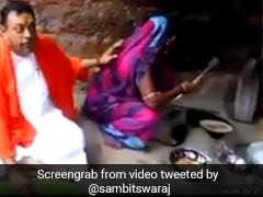 Sambit Patra's Video Triggers Queries On Cooking Gas Scheme
