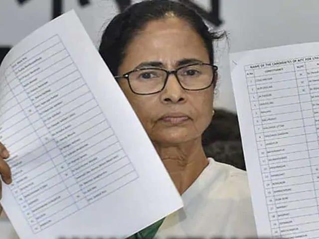 Video : வேட்பாளர்களை அறிவித்த மம்தா