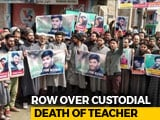 Video : Outraged Srinagar Protests Against Custodial Death Of School Principal