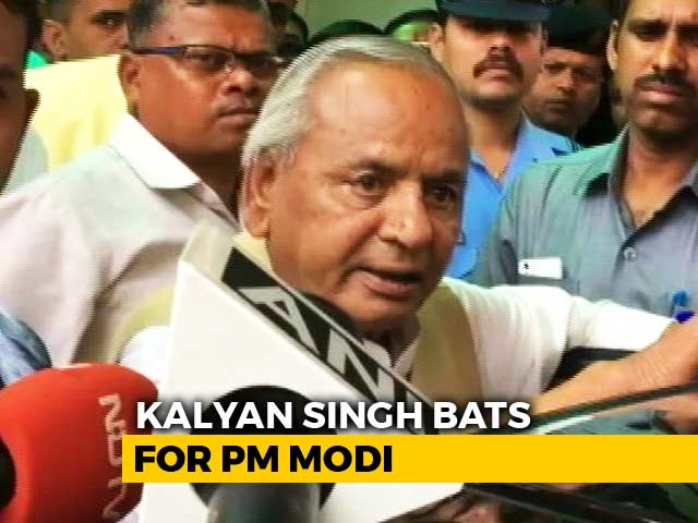 "Video : ""Society Needs PM Modi"": Governor Kalyan Singh Channels BJP Karyakarta"