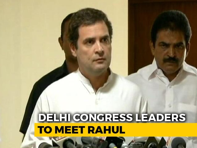 Video : Congress CWC Meet Today To Give Final Shape To Election Manifesto