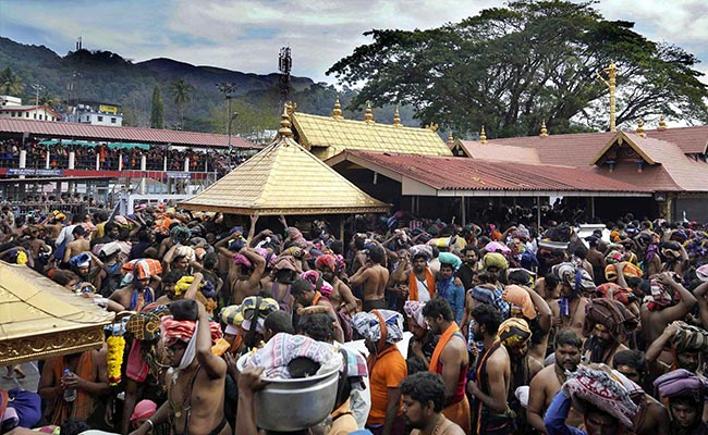 Kerala Minister Backs Bill To Stop Sabarimala Entry For Women Aged 10-50
