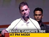 "Video : ""Did You See His Face?"" Rahul Gandhi Scoffs After PM Modi's Address"