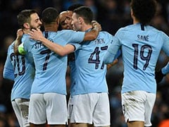 Manchester City Thrash Schalke 7-0 To Reach Champions League Quarter-Finals