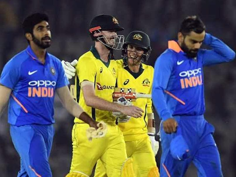 Australia claims historic one-day worldwide  series win in India