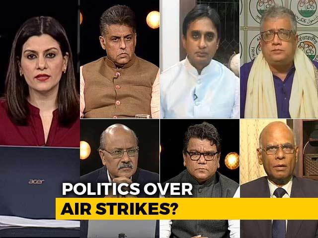 Video : Politics Over Air Strike: Rhetoric On Pak To Decide India's Poll Campaign?