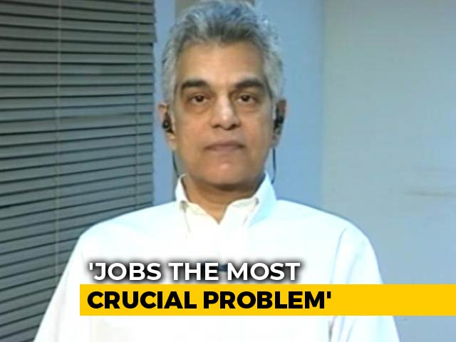 """Video : """"Jobs Is The War We Should Be Fighting"""": CMIE's Mahesh Vyas To NDTV"""