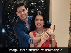 Why <i>Maine Pyar Kiya</i> Star Bhagyashree's Son Abhimanyu Doesn't Think He 'Belongs' In Bollywood