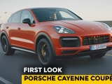 Video : Porsche Cayenne Coupe First Look