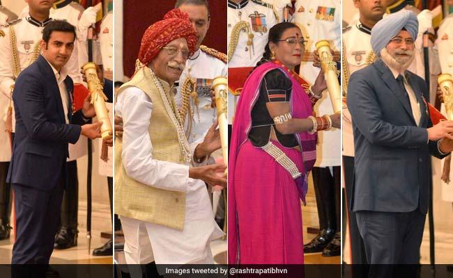 राष्ट्रपति रामनाथ कोविंद ने 54 हस्तियों को दिए पद्म पुरस्कार,यहां पढ़ें पूरी लिस्ट