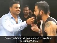 विराट कोहली ने मनाया सिक्योरिटी गार्ड का बर्थडे, कटवाया केक और दिया ये GIFT, देखें VIDEO