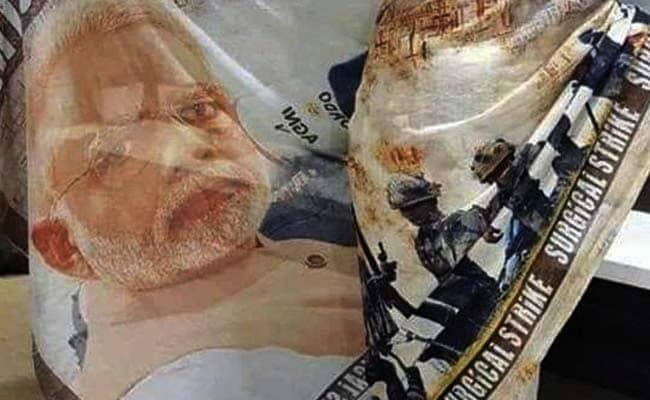 Saris With PM Modi Print Fly Off Shelves, Rahul Gandhi Version Soon