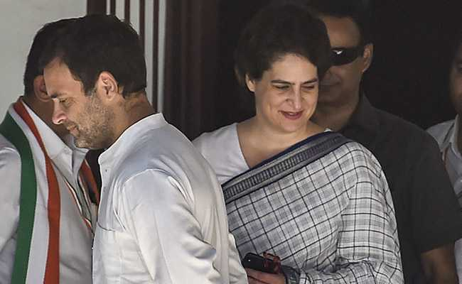 Rahul, Priyanka Gandhi's UP Rally Cancelled Over Bad Weather