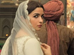 Alia Bhatt Is Nervous About <I>Kalank</i> Song <I>Ghar More Pardesiya</i> And In Hiding