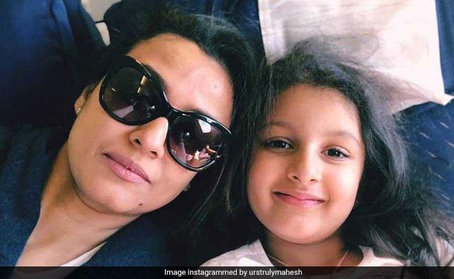 Women's Day 2019: Namrata Shirodkar And Sitara 'Shine Bright' In Mahesh Babu's Post