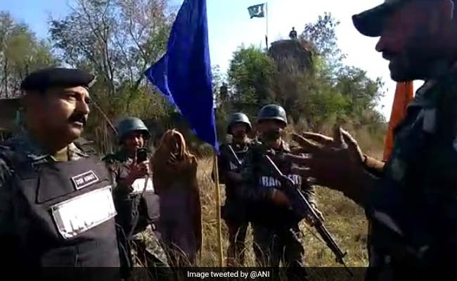 BSF Returns 60-Year-Old Pakistani Man Caught Near International Border