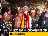 Video : Mizoram Governor Resigns, May Contest Against Shashi Tharoor In Kerala