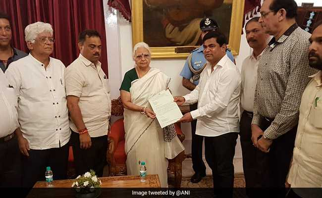 Goa Congress Meets Governor To Stake Claim To Form Government