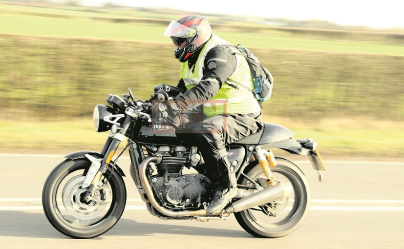 The Thruxton R Black seems to be a near-production prototype