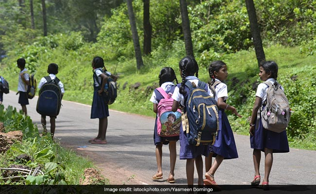 Reaching School An Uphill Task For Tribal Children In This Gujarat Village