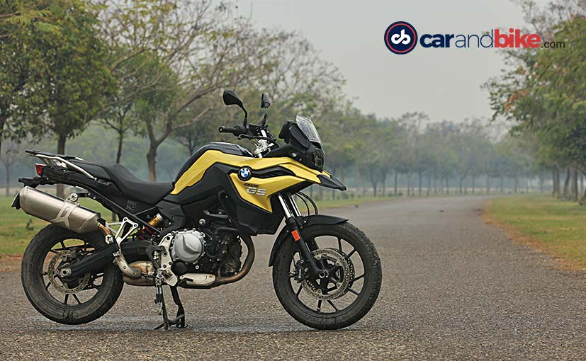 The BMW F 750 GS is being offered with discount of nearly Rs. 3 lakh