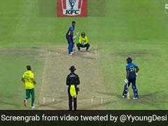 आउट नहीं था बल्लेबाज फिर भी जश्न मनाने लगा ये गेंदबाज, विकेटकीपर भी देखकर रह गया हैरान, देखें VIDEO