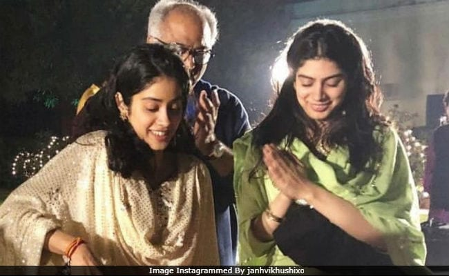 Birthday Special: Rare Childhood Pictures of Janhvi Kapoor