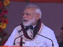 """U-Turn Babu"": PM Modi Hits Out Chandrababu Naidu In Andhra-Highlights"
