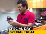 Video : Watch: Sachin Tendulkar Cooks For His Mom on International Women's Day