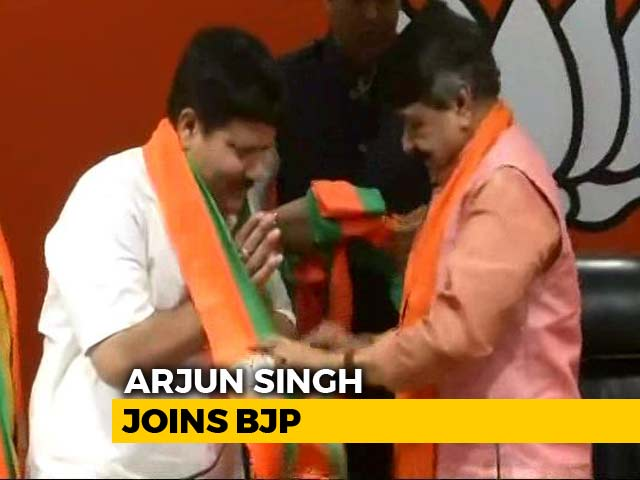 Video : Arjun Singh, Four-Time Trinamool Lawmaker, Joins The BJP Today