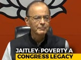"Video : ""Bluff Announcement"": Arun Jaitley Shreds Congress Minimum Income Plan"