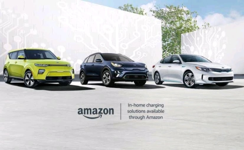 Kia Partners With Amazon To Sell Charging Stations For Electric Vehicles In The US