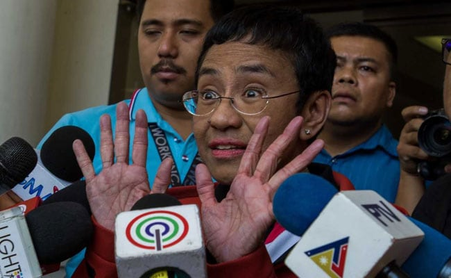 Philippines arrests journalist Maria Ressa on fraud charge